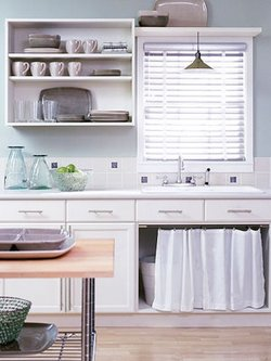 Kitchen Cabinets No Doors renewing the look of kitchen cabinets - www.tidyhouse