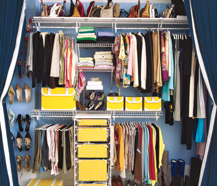 Organize your closet How to organize your clothes without a closet