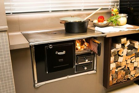 Of course some will want the old-fashioned look, and you will have no  problem finding stoves with that type of design.