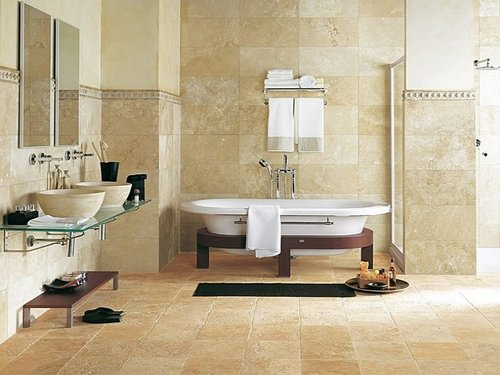 Bathroom Floor Tiles Cleaning Maintaining - Best way to clean bathroom tiles