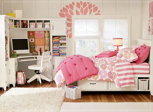 Girls Small Bedroom