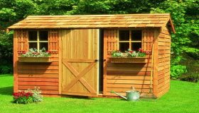 Cleaning And Organizing Garden Sheds