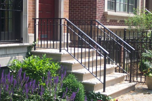 Refurbish Home With Wrought Iron Gates And Railings