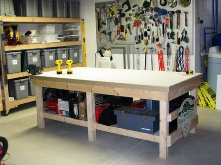accessories cabi storage workbenches depot the for and home workbench garage tool