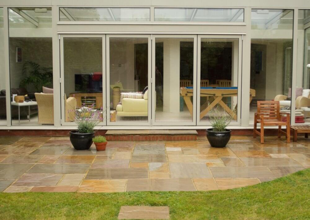 if you are setting out to build yourself a patio be sure to shop for materials at indian sandstone in addition this article will provide some great tips - Diy Sandstone Patio