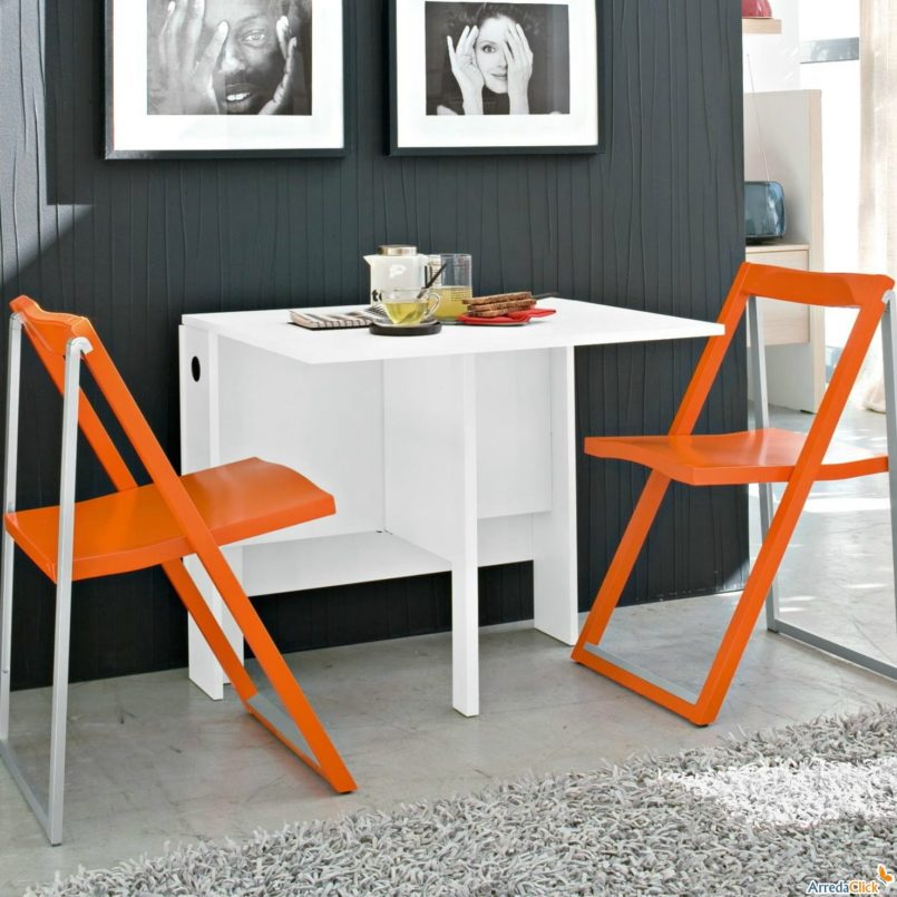 Folding Dining Room Tables For Saving Space